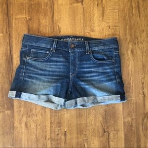 AE denim shorts size 10 Med Wash